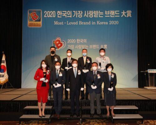 """Premiul """"Cel mai iubit brand al Coreei de Sud"""" Ceragem"""