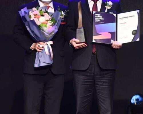 "Ceragem a castigat, al 3 lea an consecutiv premiul ""2021 Korea First Brand Awards"","
